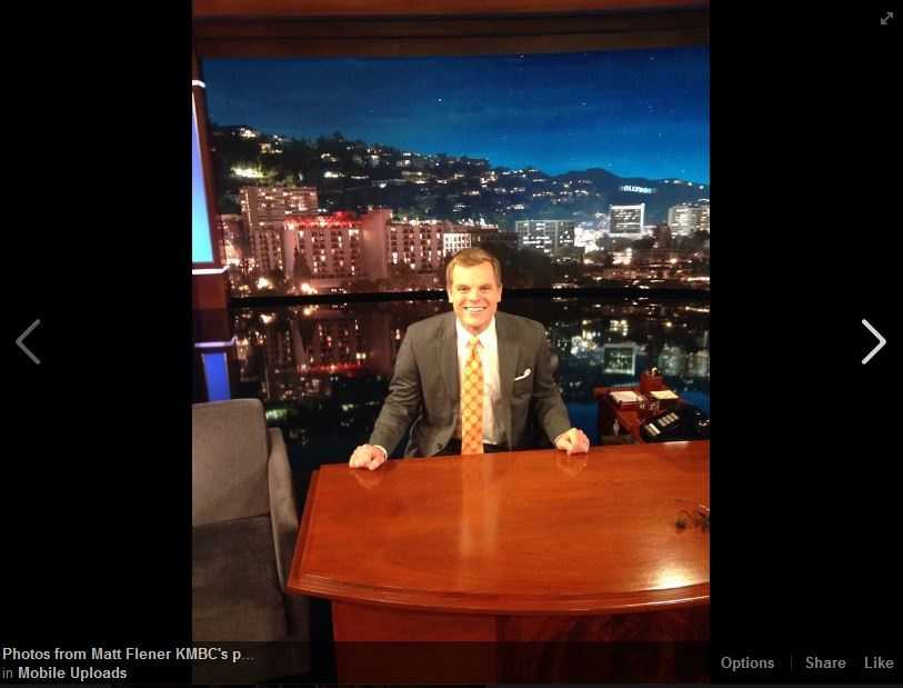 Matt Flener has found a new desk! Click here for more extra content and live tweets from Hollywood.