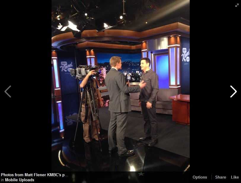 Matt Flener interviews Jimmy Kimmel about excitement over the Oscars. Watch the 87th Annual Academy Awards Sunday with coverage beginning at 5 p.m. on KMBC-TV.