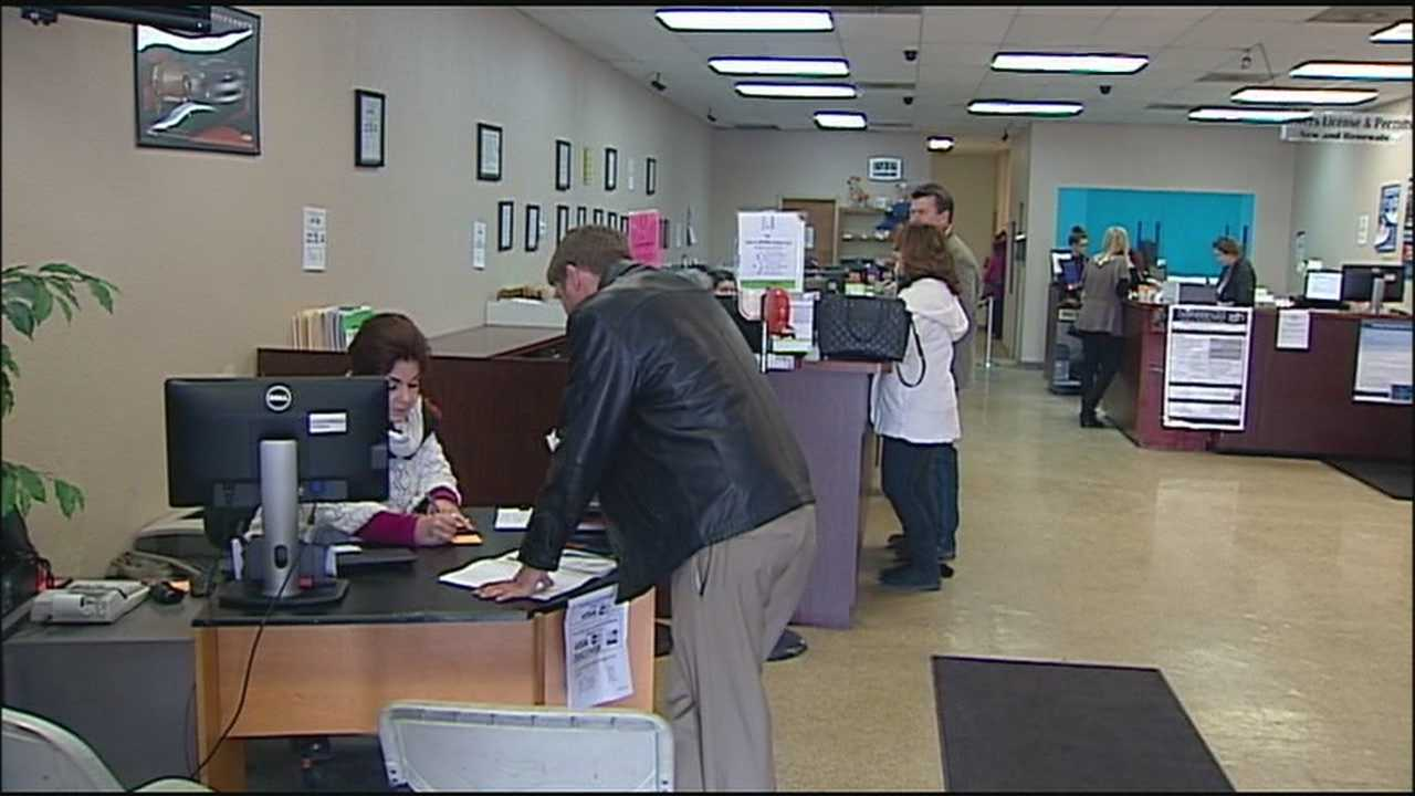 The owner of some Missouri driver's license offices is suing the state, saying that its new rules are unfair, could drive good owners out of the business and will make going to a licensing office more time-consuming.