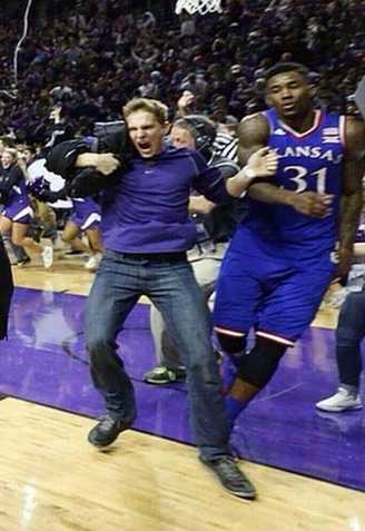 If you can identify this fan, you're asked to contact Kansas State Police immediately.