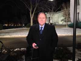 KMBC's Kris Ketz reports live from the White House lawn