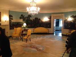 White House diplomatic room