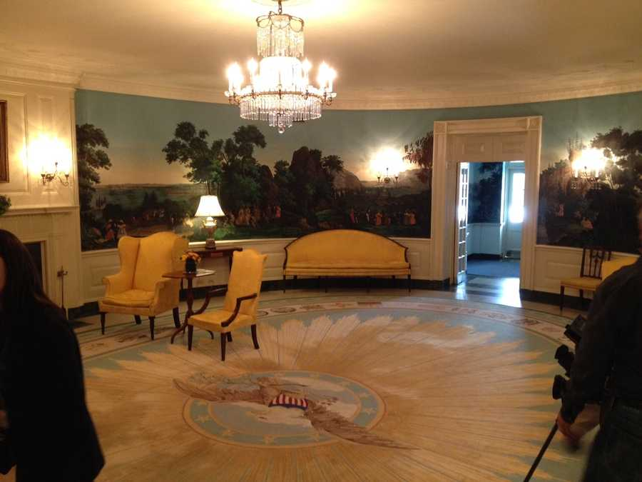 White House diplomatic room