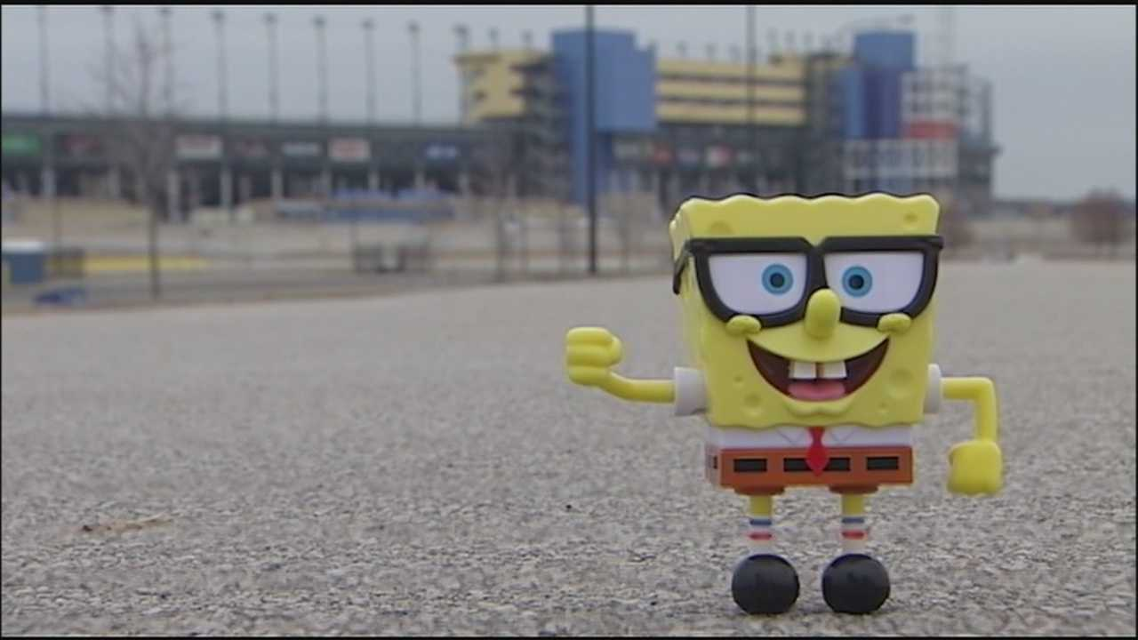 "The May 9 Sprint Cup Series race at Kansas Speedway will be named the ""SpongeBob SquarePants 400."""