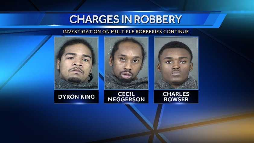 Authorities say investigations continue on robberies the night deputy was shot