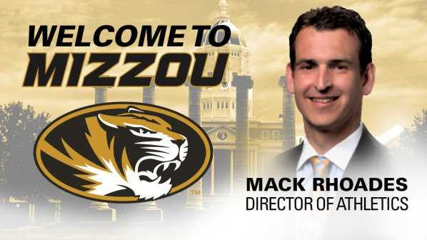 Mack Rhoades has been named the new Director of Athletics at Mizzou.
