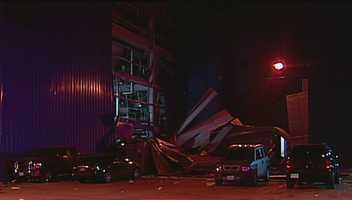 An explosion injured three people at the Corbion plant early Wednesday morning.