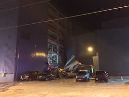 Workers' injuries were described as minor. Corbion manufactures baking ingredients. The explosion happened near a dust collector.
