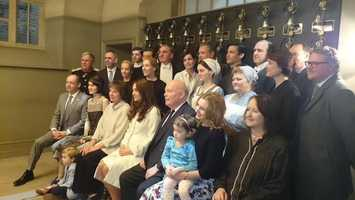 """The Duchess of Cambridge visited the set of """"Downton Abbey"""" on Thursday."""
