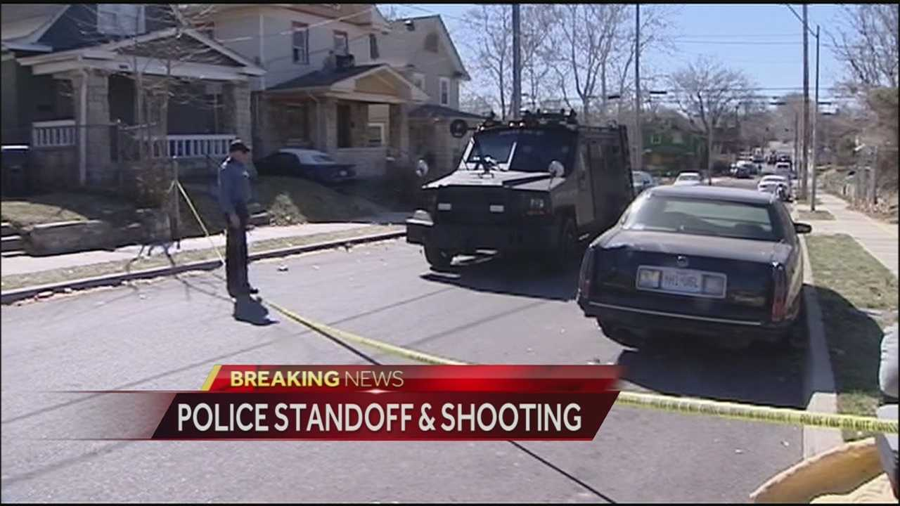 A police standoff in the area of 41st Street and Forest Avenue has had a neighborhood on lockdown for much of the afternoon.
