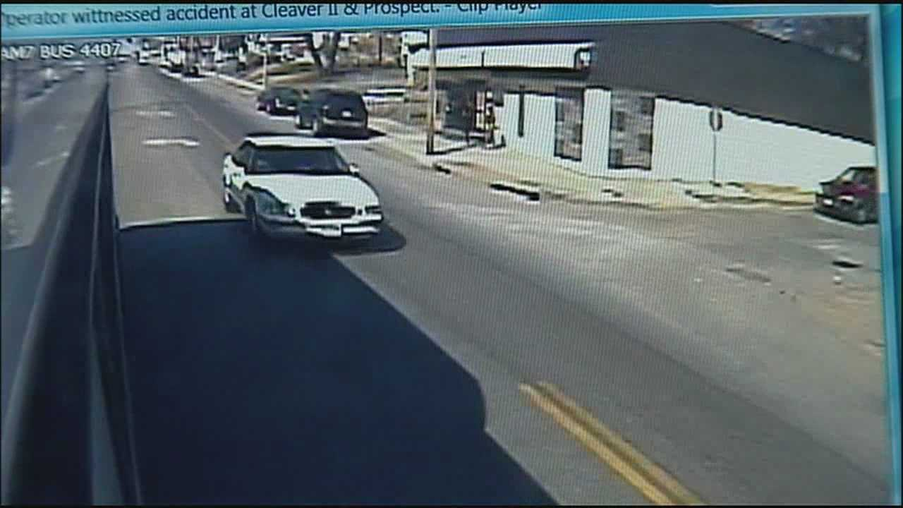 New surveillance video is offering additional perspectives of a crash last week that left a car in Brush Creek.