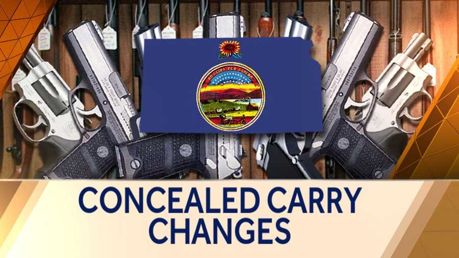 Kansas to allow carrying of concealed guns without permit