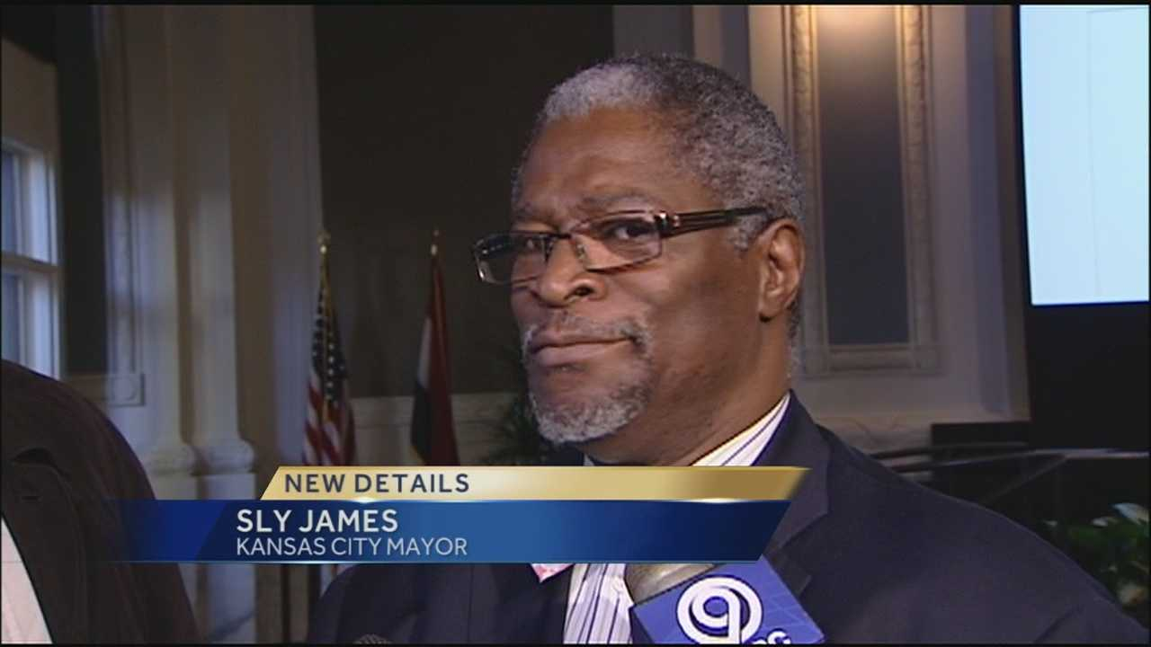 Kansas City police provide additional protection for Mayor James after a threat was made to his campaign website.