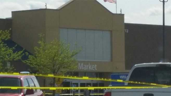 People at the store say they received a bomb threat at 2:30 p.m. Monday afternoon.