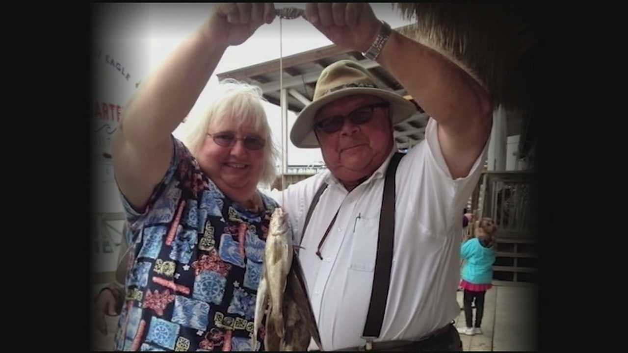Mary and Ervin Huslig died Monday in a fiery RV accident in Illinois.