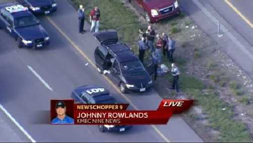 A man leads police on a brief chase on 169 Highway.
