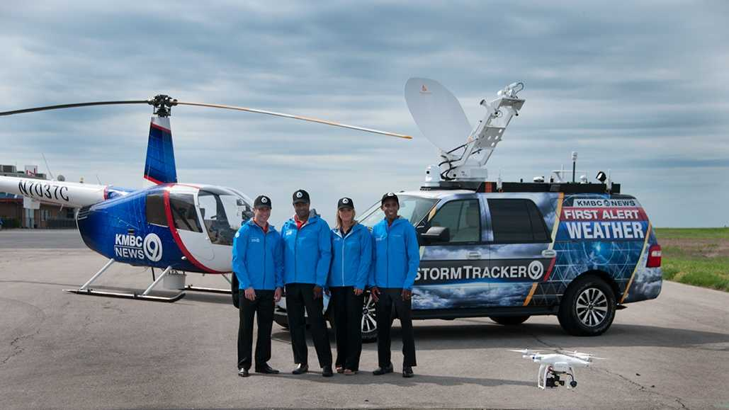The First Alert Weather Team with NewsChopper 9 and StormTracker 9.