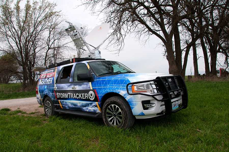 StormTracker 9 testing in Johnson County, Kan.