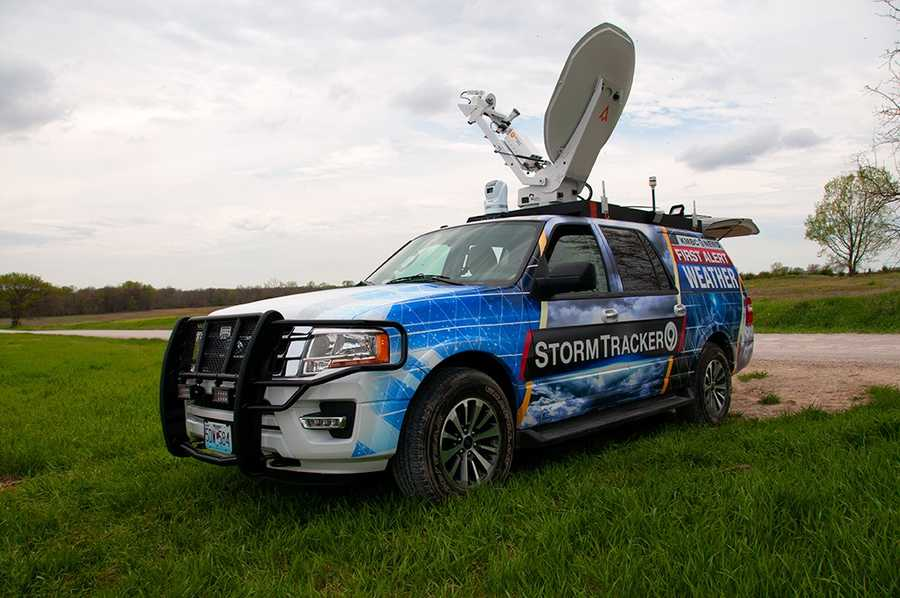 StormTracker 9, the newest member of the First Alert Weather Team