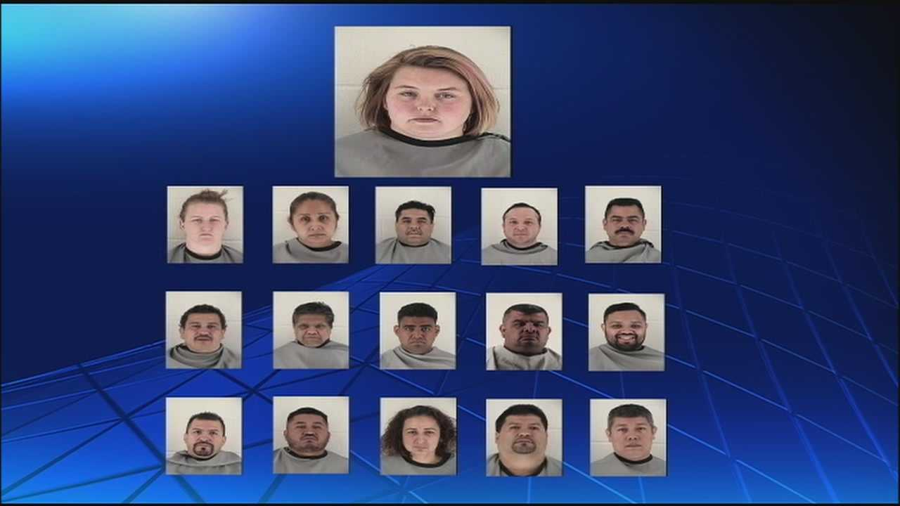 More than 30 people busted in Johnson County for fraudulent licenses.