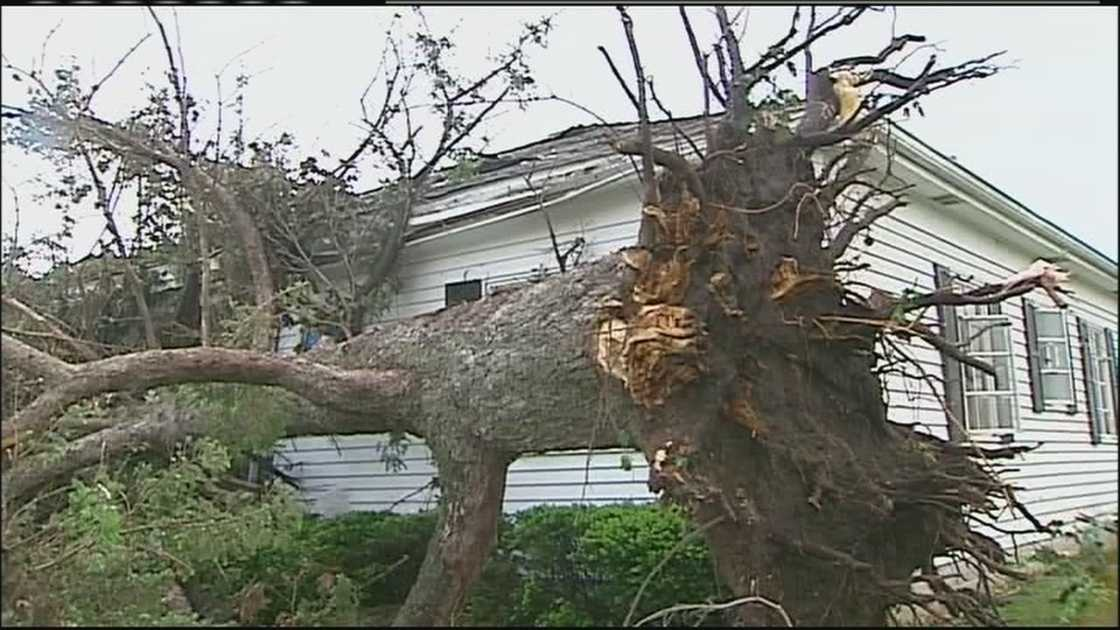 Last May an EF-2 tornado touched down in Orrick.