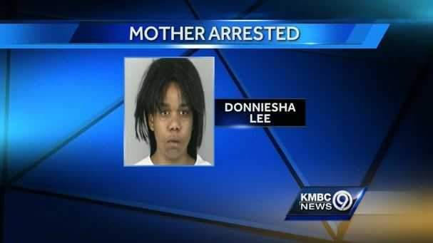 Police say Donneisha Lasha spent a night drinking Brandy before striking and killing her baby daughter.