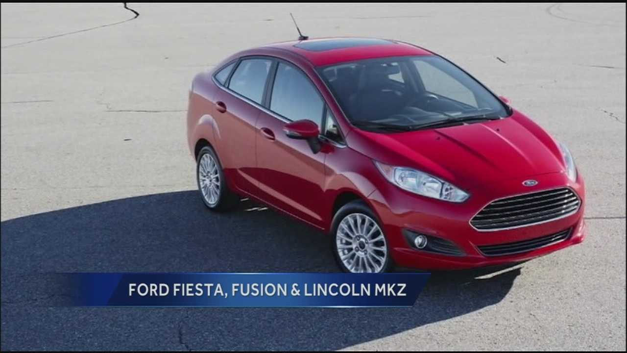Ford Motor Company is recalling thousands of late-model Fiestas, Fusions, and Lincoln MKZ sedans because of a problem with the door latches on the cars. Ford says the faulty latches could cause the door to fly open while the car is on the road.