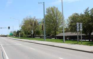 5.  Northbound U.S. 69 Highway at West 103rd Street.  Overland Park police reported 99 tickets given at this intersection in 2014.