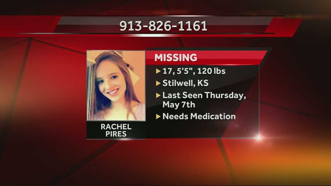 The mother of missing Stilwell teenager Rachel Pires asks the public to help find her daughter, saying Rachel is not in a safe situation right now.