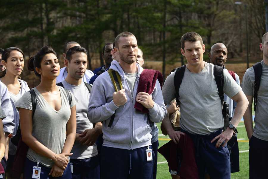 """Quantico"" follows a group of new FBI recruits through their training, but one of them may be behind a terrorist plot. See it Tuesdays at 9 p.m. CT."