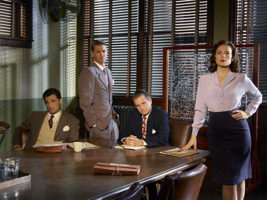 "Marvel's ""Agent Carter"" will return at midseason while ""Agents of S.H.I.E.L.D."" takes a mid-winter break. Tuesdays at 8 p.m., starting in January."