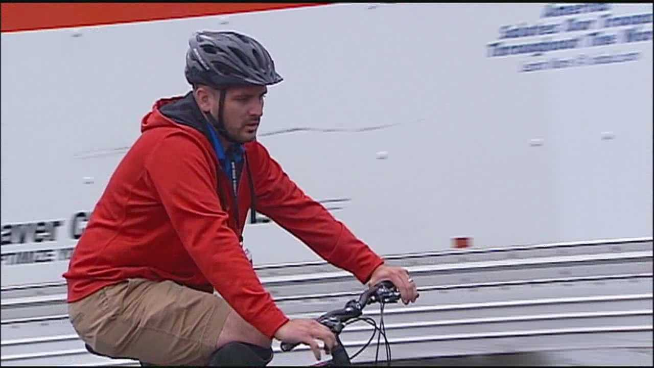 Wounded veterans from around the country are in Kansas City this week for a special cycling event.