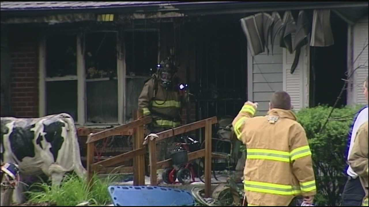 A house fire that claimed the lives of a 3-year-old boy and his great-uncle in Shawnee early Thursday was the second fatal fire at that same address for that same family.
