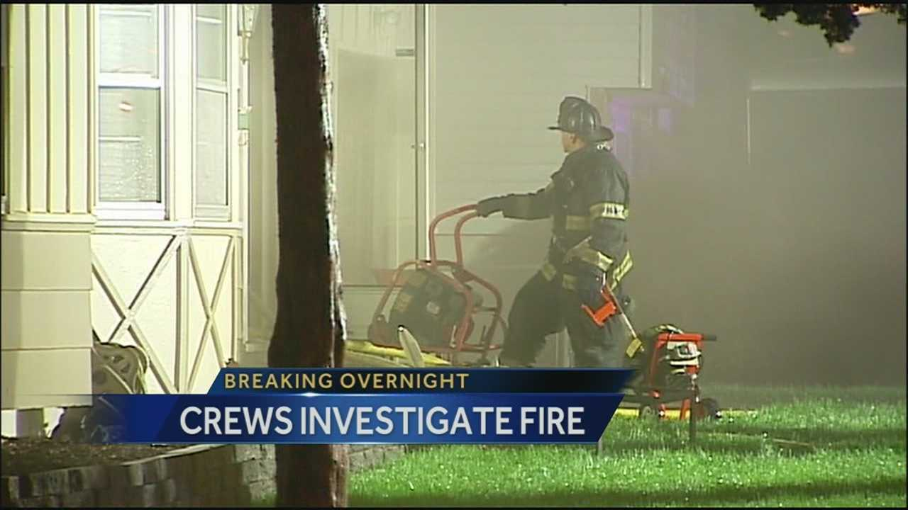 Firefighters say an electrical issue or lightning may have caused a fire at a Raytown home early Sunday.
