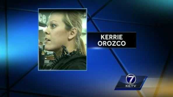 Police in Omaha say officer Kerrie Orozco was killed Wednesday after shot while serving a warrant.