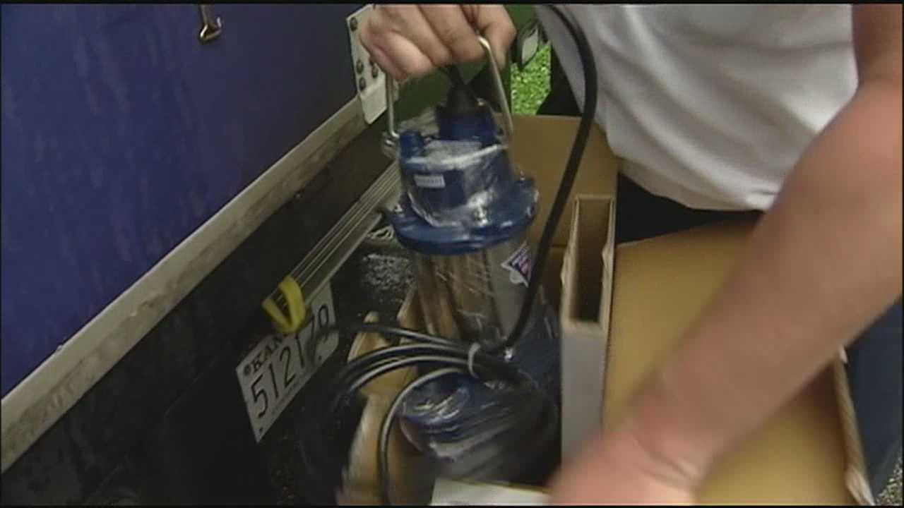 Another weekend with rain in the forecast has some families and plumbers preparing for more flooding.