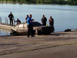 An autopsy determined the remains in the car belong to Fremont O'Berg, 57. O'Berg was reported missing in 1992.