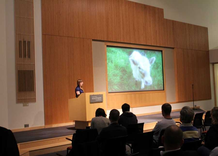 One Million Cups is a free, weekly national program designed to educate, engage, and connect entrepreneurs. Click here to visit the program's website. Wind Haven Farms recently presented at the Kauffman Foundation Conference Center.