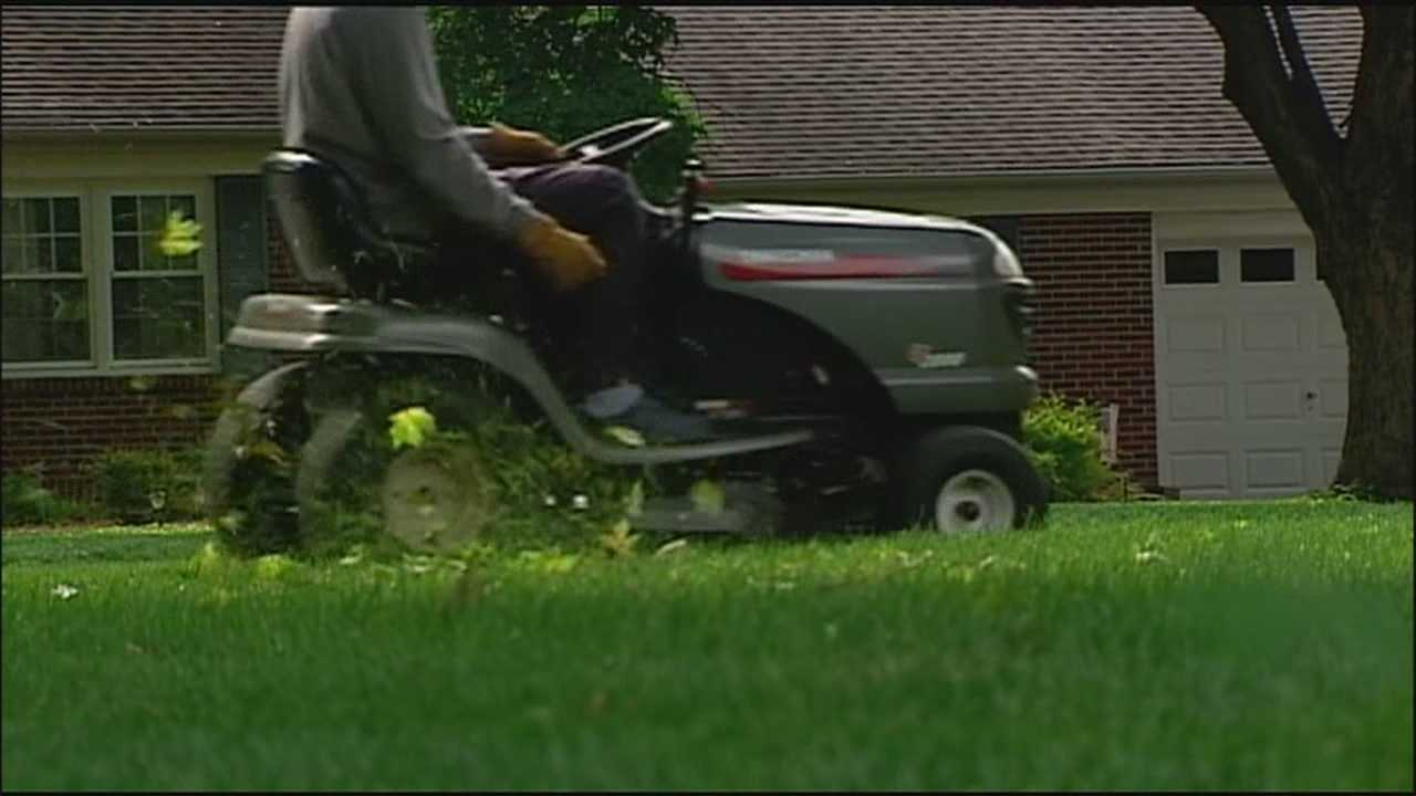 Children's Mercy Hospital is warning parents that doctors are seeing an increase in the number of children losing limbs from lawn mower accidents.