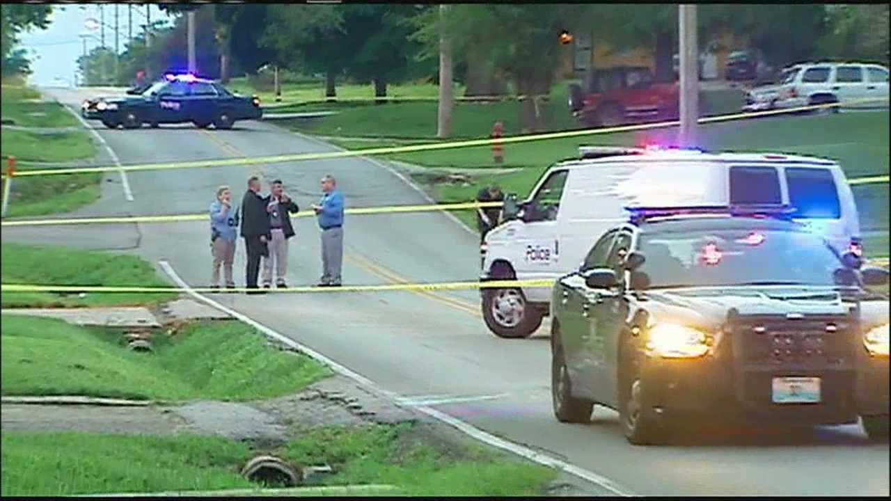 One woman was able to drive herself to a hospital after an overnight shooting in a southeast Kansas City neighborhood.