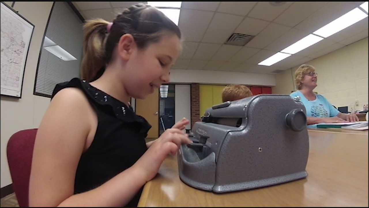 Five students from the Kansas City metropolitan area will compete in a national challenge to show off their skills in Braille.