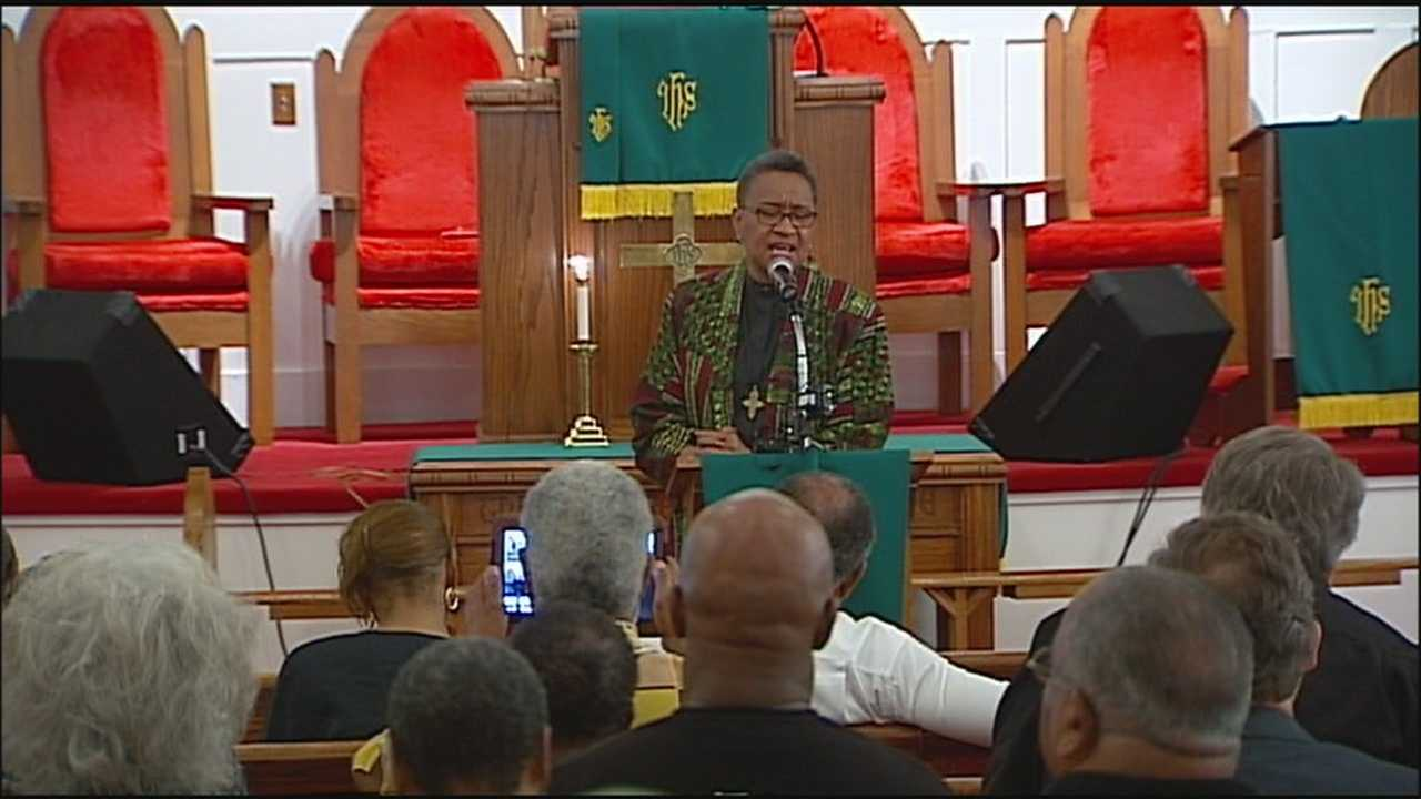 In the wake of the Charleston church shootings, Bethel AME Church in Kansas City held a prayer service Thursday.