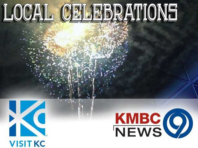 KMBC 9 News and Visit KC are teaming up to show you some awesome places to celebrate the Fourth of July across the metro area! For more celebrations and a listing map, check out Visit KC's website.