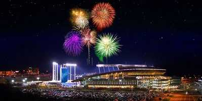 Spend the Fourth of July cheering on the Kansas City Royals to beat the Minnesota Twins at Kauffman Stadium! Stay after the game for fireworks. CLICK HERE FOR MORE INFORMATION