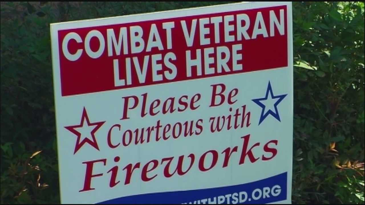 Some Fourth of July celebrations can be tough for veterans who returned from combat zones with post-traumatic stress disorder.