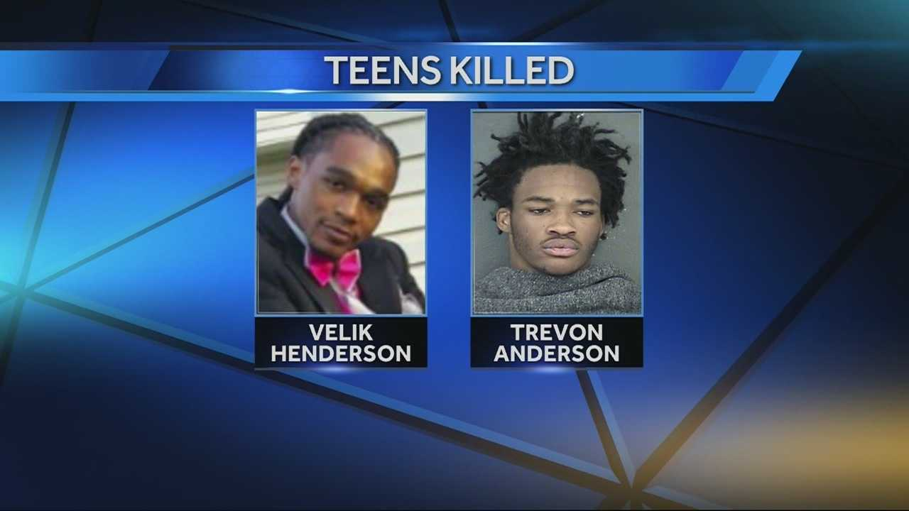 Police investigating the shooting deaths of two men in Overland Park late Tuesday said they think there was some association between Velik Henderson and Trevon Anderson and their killers, but they don't yet know what it is.