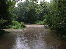 Spring Branch Creek, Independence