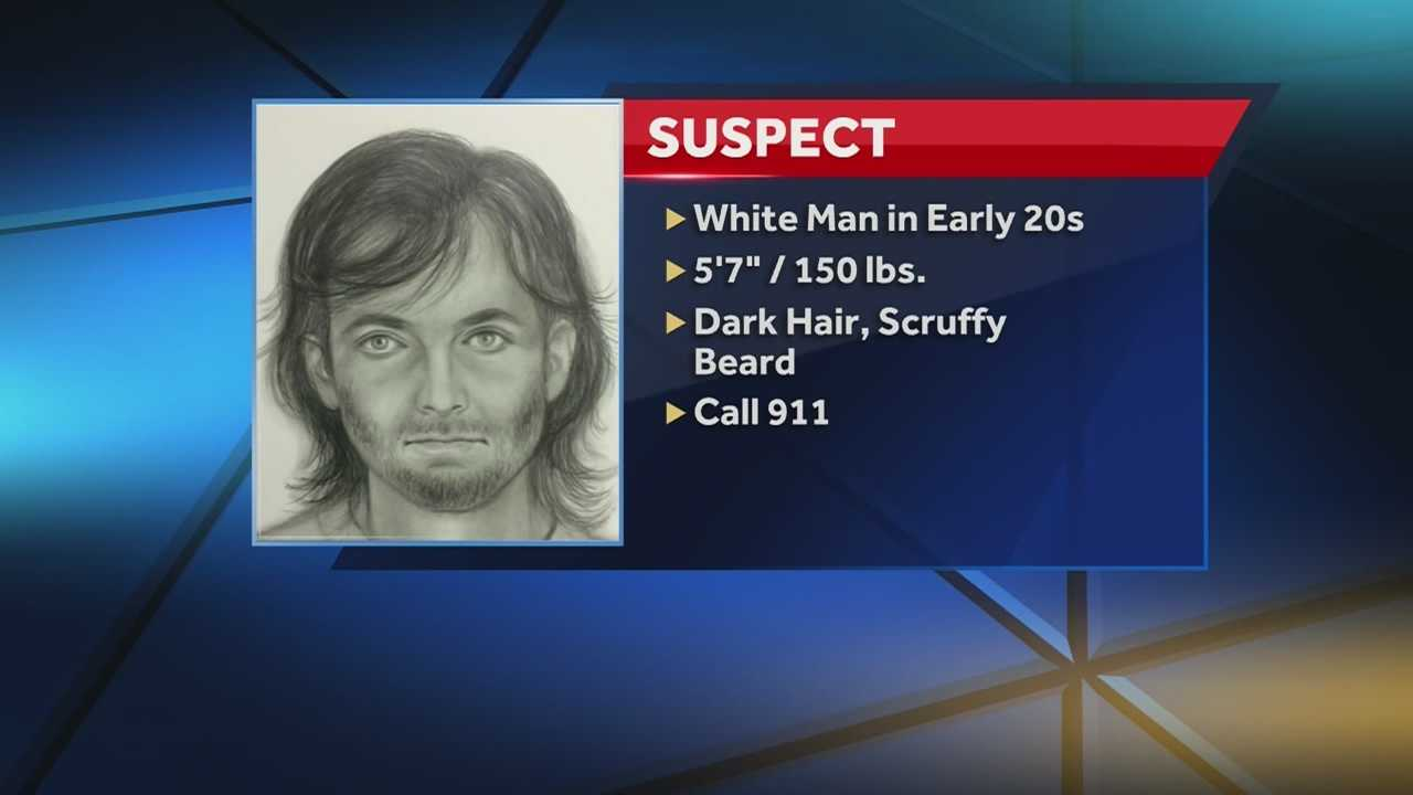 Kansas City police release a sketch of the man they're looking for in connection with a shooting that left a woman and her teenage daughter injured.