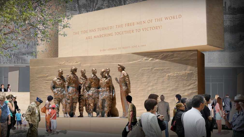 Design for proposed Eisenhower Memorial