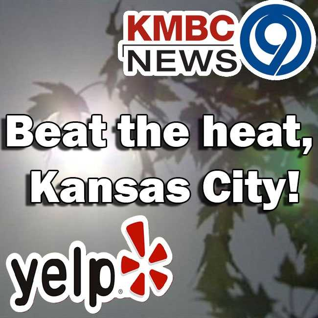 Summertime has made a grand, fashionably late entrance. No need to sweat it though, Yelp KC has top rated recommendations to help you get out of the house and beat the heat!